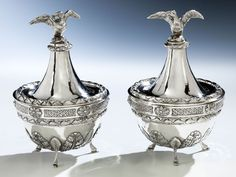 Significant Salt Cellars, Italy 18th C.