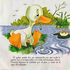 Vocabulario en imágenes. Maestra de Infantil y Primaria.: Cuento El PATITO FEO. Imágenes y texto del cuento. Cover Photo Quotes, Ugly Duckling, Autumn Art, Stories For Kids, Writing Skills, Art Logo, Being Ugly, Art For Kids, Rooster