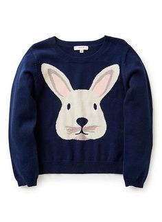 Girls Knitwear & Jumpers | Rabbit Jumper | Seed Heritage