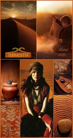 '' Terracotta '' by Reyhan S. Beautiful Color Combinations, Color Combos, Deep Autumn Color Palette, Aubergine Colour, Paint Color Schemes, Color Collage, Color Pairing, Autumn Photography, World Of Color
