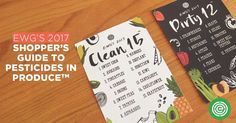 Check out EWG's 'Dirty Dozen' and 'Clean 15' lists to help decided when you should splurge for organic and when you can save money by buying conventional fruits and vegetables.