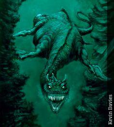 Leviatán - Seres Mitológicos y Fantásticos