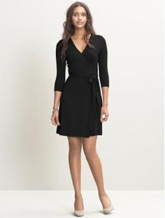 Need to wear this wrap dress more. Catch: it's quite plain and needs accessories.