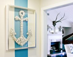 starfish decor; need to make this!