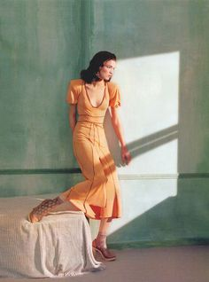 Mariacarla Boscono | Javier Vallhonrat | Flair Magazine March 2005 | 'Ritratti di Nuovo Stile - 8 Style | Sensuality Living - Anne of Carversville Women's News