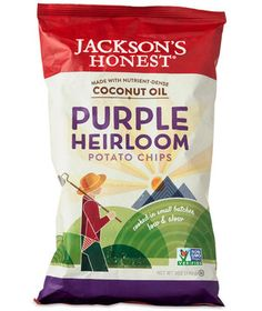 Jackson's Honest Purple Potato Chips | You won't have to break any New Year's resolutions with these delicious pick me ups.
