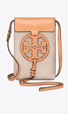 Tory Burch Miller Canvas Phone Cross-Body