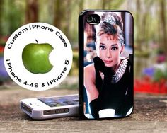 Audrey Hepburn Breakfast At Tiffany's-Custom case for iphone