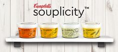 Campbell's refrigerated soups.