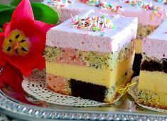 Polish Recipes, Food Cakes, Homemade Cakes, Confectionery, Mini Cakes, Cheesecake Recipes, No Bake Cake, Vanilla Cake, Food And Drink
