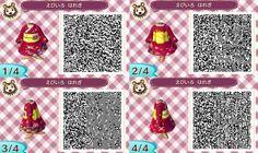robe japonaise + qr code acnl