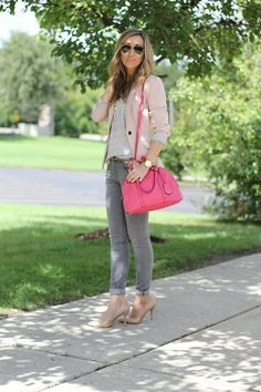 Lilly Style: Happy Day, need gray jeans