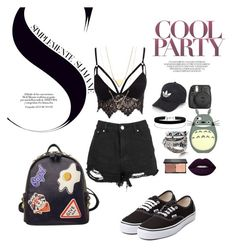 """""""Festival"""" by udggv24 on Polyvore featuring Club L, Vans, adidas, Miss Selfridge, Lime Crime, blacklUp and WithChic"""