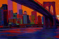 Toile peinture New york - Collectif d'artistes
