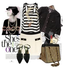 Love the black and white...love Chanel.