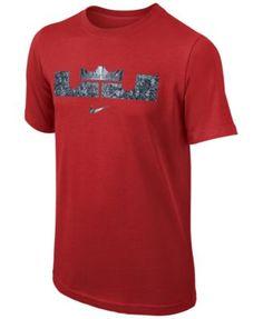 Nike Boys' Lebron Logo Tee