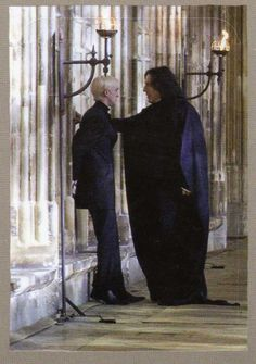Draco and Snape