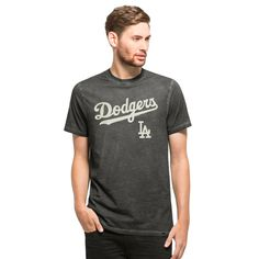 Los Angeles Dodgers Reverb T-Shirt Mens Asteroid 47 Brand