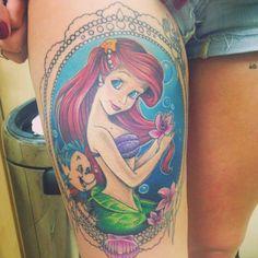 My ariel tattoo!