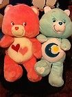 "LOT 2, 24"" JUMBO CARE BEARS, Blue BedTime Car bear & Pink Love a Lot carebearr - &amp, BEAR, Bears, BEDTIME, blue, Care, carebearr, JUMBO, LOVE, Pink"