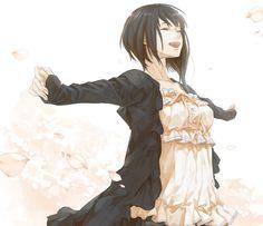 Anime girl with short pretty black hair.she appeard like a modern japan woman. Anime Oc, Pelo Anime, Manga Anime, Blue Anime, Manga Girl, Anime Girls, Ahegao Manga, Otaku, Anime Girl Short Hair