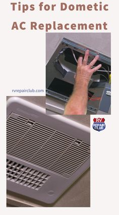 In this step-by-step video lesson, our RV maintenance experts walk you through a Dometic AC replacement on a fifth-wheel trailer. To help you navigate the process easily and safely, Dave Solberg and RVIA Certified Master Technician Steve Albright demonstrate the removal and replacement of a defunct rear Dometic cooling system on a 40-foot fifth-wheel. Rv Camping, Camping Kitchen, Camping Cooking, Outdoor Camping, Ac Replacement, Fifth Wheel Trailers, Rv Accessories, Rv Tips, Rv Hacks