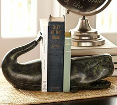 Whale Bookend #potterybarn