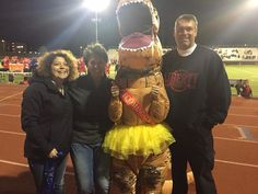 Colorado Springs Liberty High crowned Tyrannosaurus Rex as the school's Homecoming Queen.