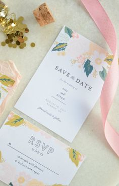 AD A wedding update and how I felt in love at first sight with these invitations from @minted on the blog! #MintedWeddings