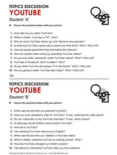 YouTube, English, Learning English, Vocabulary, ESL, English Phrases, http://www.allthingstopics.com/youtube.html