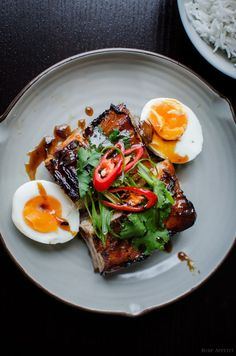 Twice cooked melting pork belly