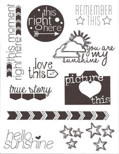 Scraptastic Clubs After the Storm Stamp Set