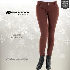 Un sábado es la ocasión perfecta para lucir un pantalón color terracota, le dará vida y fuerza a tu #outfit. #KenzoJeansaUnClic más en www.kenzojeans.com.co