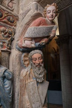 Romanesque Sculpture, Romanesque Art, Romanesque Architecture, Medieval Drawings, Medieval Art, Stone Sculpture, Sculpture Art, Early Middle Ages, European History