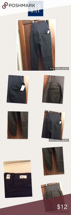 NEW Gap Maternity Skinny ankle stretch pants NEW Gap Maternity full panel Skinny ankle stretch pants in the color black with 2 front pockets and 2 rear pockets.  Firm on price and no trades. GAP Pants
