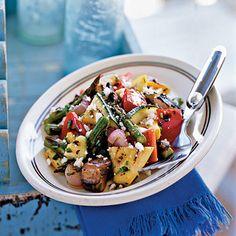 Grilled Vegetable Salad   CookingLight.com