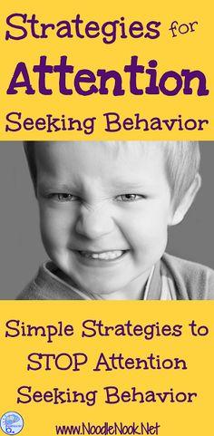 Attention behaviors