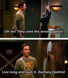 Ah, Sheldon.