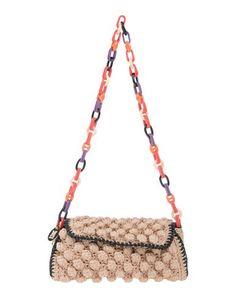 MISSONI . #missoni #bags #shoulder bags #hand bags #knit #metallic #