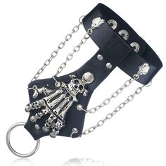 Cheap leather bracelet, Buy Quality bracelet bracelet directly from China punk rock Suppliers: Unisex Cool Punk Rock Gothic Skeleton Skull Hand Glove Chain Link Wristband Bangle Leather Bracelet Skeleton Bracelet, Skull Bracelet, Bangle Bracelets, Bangles, Mesh Bracelet, Braided Bracelets, Leather Bracelets, Leather Jewelry, Metal Jewelry