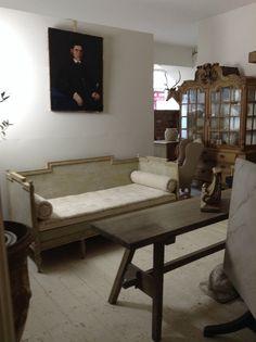 Swedish daybed at Anton & K Decorative Living