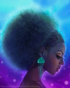 """""""When you say you will GO natural, what you mean to say is that you will RETURN."""" -I Love Being Black Natural Hair Art, Pelo Natural, Natural Hair Styles, Black Love Art, Black Girl Art, Black Girls, African American Art, African Art, Art Noir"""