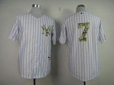 MEN'S NEW YORK YANKEES USMC MICKEY MANTLE BASEBALL JERSEY-SIZE: XL (52)…