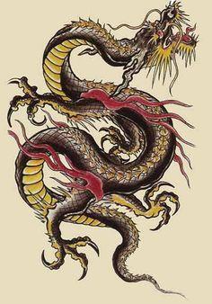 Les dragons japonais (日本の竜, nihon-ne-ryū?) ou dragon (竜, ryū?) sont quelques créatures légendaires d'attributs physiques similaires aux des dragons chinois et coréens. Le ryū a provenu depuis la Chine et il est une des quatre bêtes divines de la mythologie japonaise. Il est avec fréquence est emblema d'empereurs ou héros.