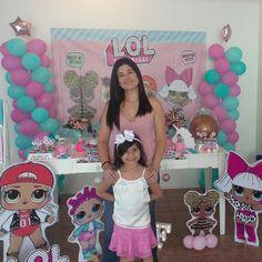 Como ela disse: Mãe eu amei a minha festa!! Já valeu todo esforço!!! #mariafaz6 #bday #lolsurprise