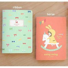 Lovely Illustration Teeny Tiny Notebook