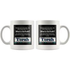 Return to the TORAH,be set-apart And your TORAH is TRUTH PSALMS 119:142 Coffee Mug by HalleluyahMugs, $9.95 USD Set Apart, Boneless Chicken, Torah, Cleveland, Psalms, Chicken Recipes, Coffee Mugs, Tableware, Dinnerware
