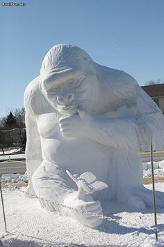 Amazing Snow Art
