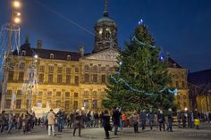 The Royal Palace at Christmas Time