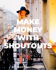 Buy Shoutouts from Social Media Influencers Social Media Influencer, Influencer Marketing, Passive Income Streams, Way To Make Money, How To Make, Earn Extra Cash, Instagram Influencer, Earn Money Online, Online Work
